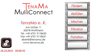 Touchpanel TenaMa MultiConnect