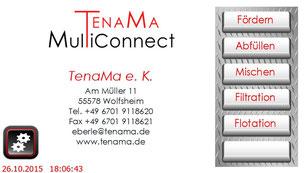 Touchpanel TenaMa MultiConnect