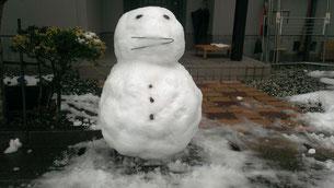 雪だるま(長女作)