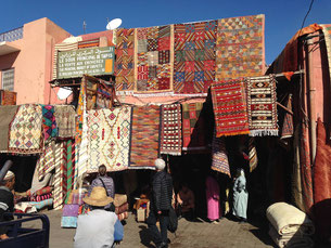 Back to the colourful Souks in Marrakesh