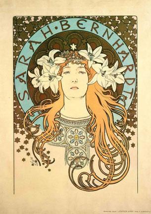 Sarah Bernhardt  (1897)
