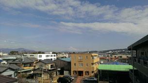 遠いけど富士山