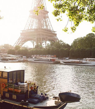 Eiffel Tower by the Seine (By Paris With Me)