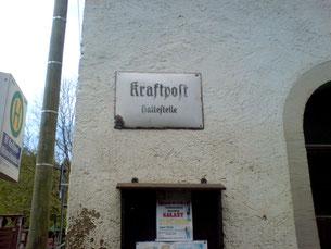 Bold: Wünschendorf Bahnhof Kraftpost Bushaltestelle