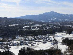 雪景色も美しいです。(12月店内撮影)
