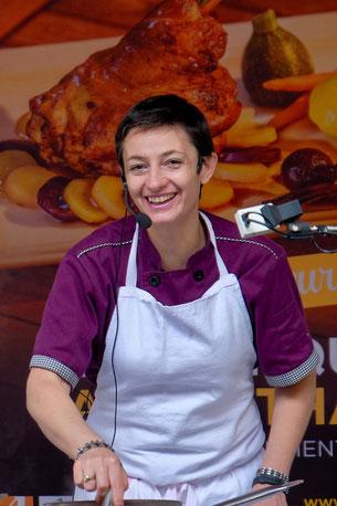 Sandrine Bruchet - Restaurant Hostellerie du Grand Duc - Gincla