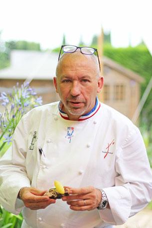 Franck Putelat - Restaurant La Table de Franck Putelat -Hôtel Le Parc