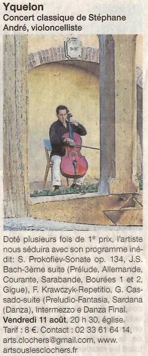 Ouest-France - 7 et 11 août 2017