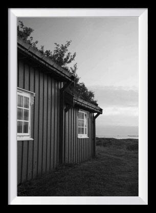 Schwarz-weiß Fotokunst - Schweden