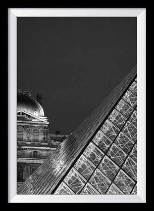 Paris Fotokunst in schwarz-weiß