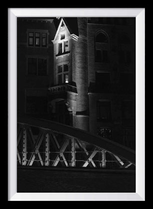 Hamburg Fotokunst schwarz-weiß