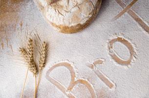 Schriftzug Brot