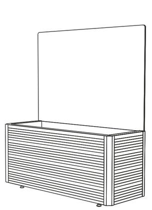 Windschutz modul Brügge