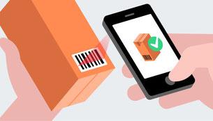 Codecheck App zum Scannen von Produkten