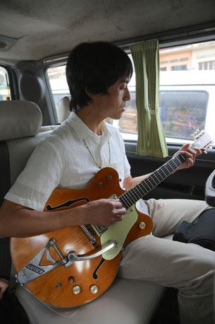 JHPの木村さんに一曲