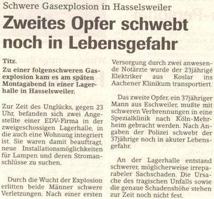 Jülicher Zeitung vom 22.04.1998