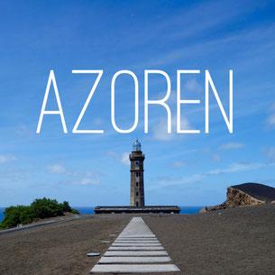 Azoren, Faial, Horta, Vulkan