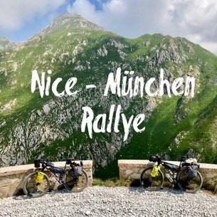 Nice, München, Rallye, Bikepacking