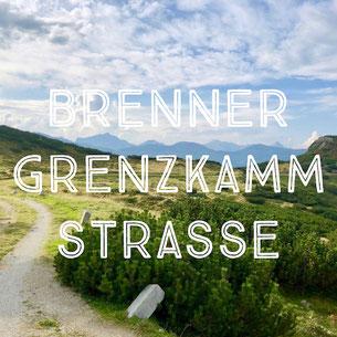 Brenner Grenzkammstraße, Bikepacking in den Alpen, MTB-Tour, alte Militärstraße