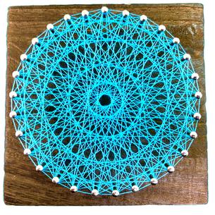 簡単な糸かけ曼荼羅