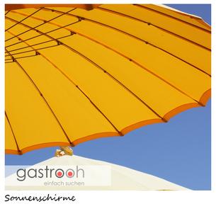 Sonnenschirme Restaurant Terrasse