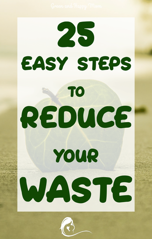 Initially it might seem like be a big step to reduce your waste production. But, if you take small steps, it becomes much more manageable while you can still make an impact on the environment.