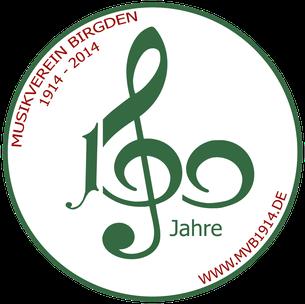 Vorstand des Musikvereins Birgden