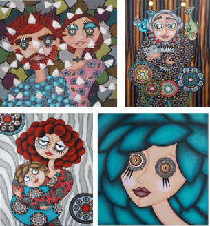 Tableaux de personnages - Artiste peintre Nantes