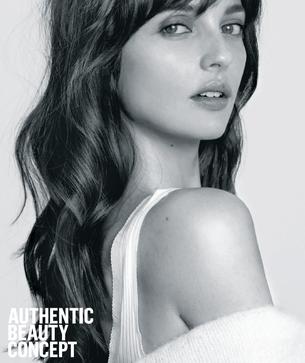 authentic beauty concept woman