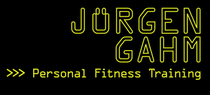 Jürgen Gahm Personal Fitness Training Logo