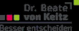 Dr. Beate von Keitz - Besser entscheiden