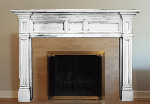 We will send you back a scaled depiction of your mantel of choice.