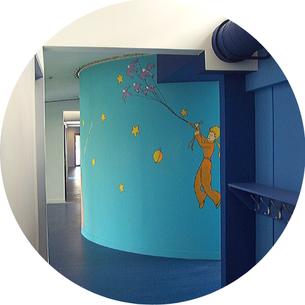 Couloirs maternelle Ecole Maupas Percy-en-Normandie