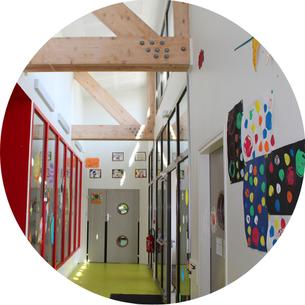 Couloir Centre de loisirs Ecole Maupas Percy-en-Normandie