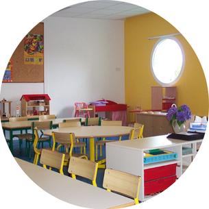 Salle de classe maternelle Ecole Maupas Percy-en-Normandie