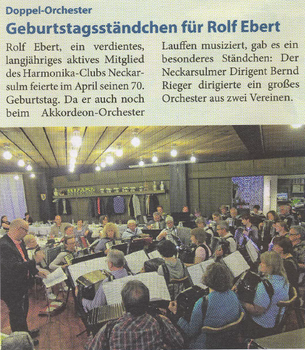 Neckarsulmer Woche, April 2015