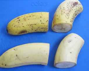 値段が高いバナナはどちら、上か下か?