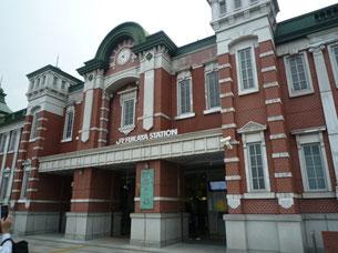 高崎線深谷駅二階部分