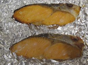 冷凍鮭の簡単調理