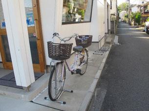 新設した駐輪スタンド