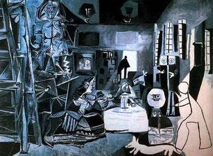Коллекция картин Менины,  Пикассо