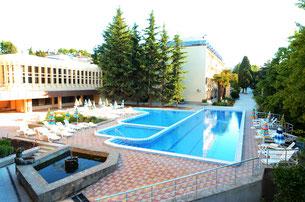 Санаторий GOLDEN ГОЛДЕН (ЗОЛОТОЙ КОЛОС) Крым, Алушта, ул. Красноармейская