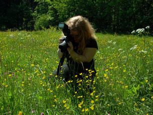 Wildkrautgarten-Autorin Mandy Bantle (Foto Horst Koschinski)