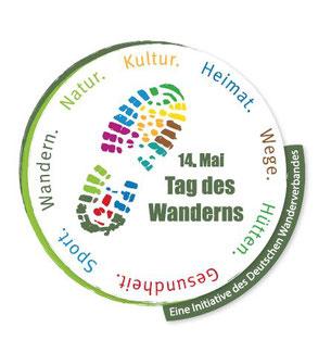"""Logo """"Tag des Wanderns"""" © Deutscher Wanderverband"""