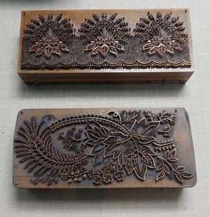 Bild alte Handdruckmodel