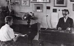 CD『アラダール・ラーツのツィンバロン』は夫人との共演