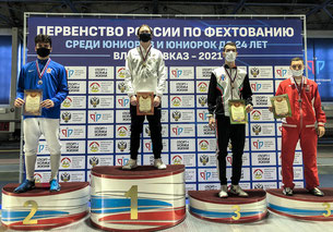 Егор Гужиев на первом месте первенства страны!