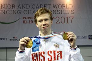 Егор Гужиев - победитель юниорского чемпионата мира