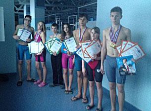 Выборгские пловцы