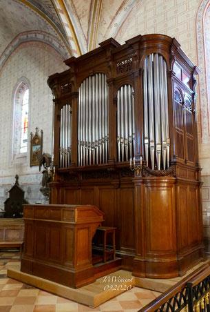 L'Orgue en l'Eglise St-Pierre - 12.09.2020 - (© JMV)